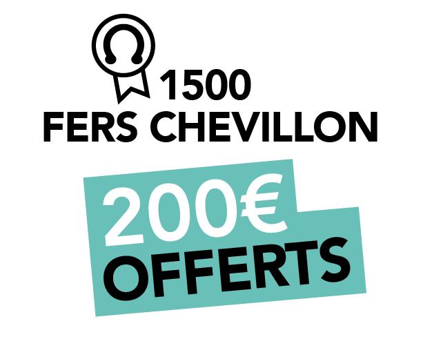 Colonie equitation pas cher - Gagner 1500 points de fidélité Chevillon : 200€ offerts sur un prochain stage