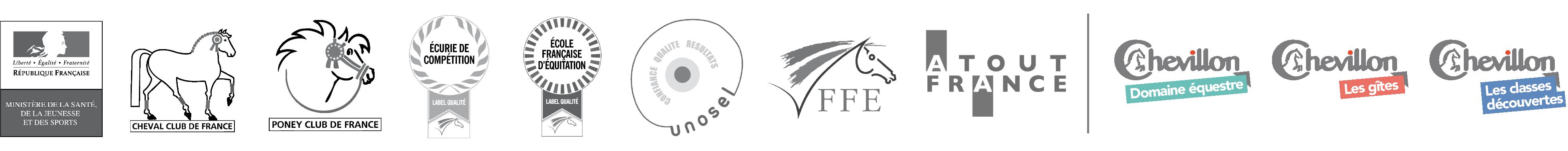 Colonies au Domaine équestre de Chevillon, école d'équitation FFE, Unosel, Classes découvertes et gîtes